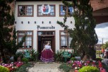 Pomerode, a small village outside of Blumenau. is known as the most German city in Brazil. 97% of the residents still speak German today