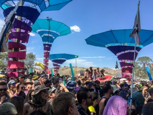 The Woogie stage was devoted to house music.
