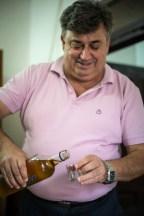 Simon's next door neighbor was Milosim Vojneski, the mayor of Macedonia Brod. Later that evening he too invited over for a more coffee and Rakija.