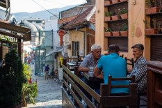 The oldest references to Skopje's Old Bazaar date back to the 12th century. It was damaged numerous times during the 20th century, but it is still going strong and full of cafes and mosques.