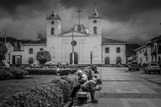 Chachapoyas is a sleepy, white town surrounded by high altitude cloud forest.