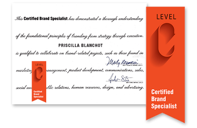 Priscilla Blanchot Level C certification