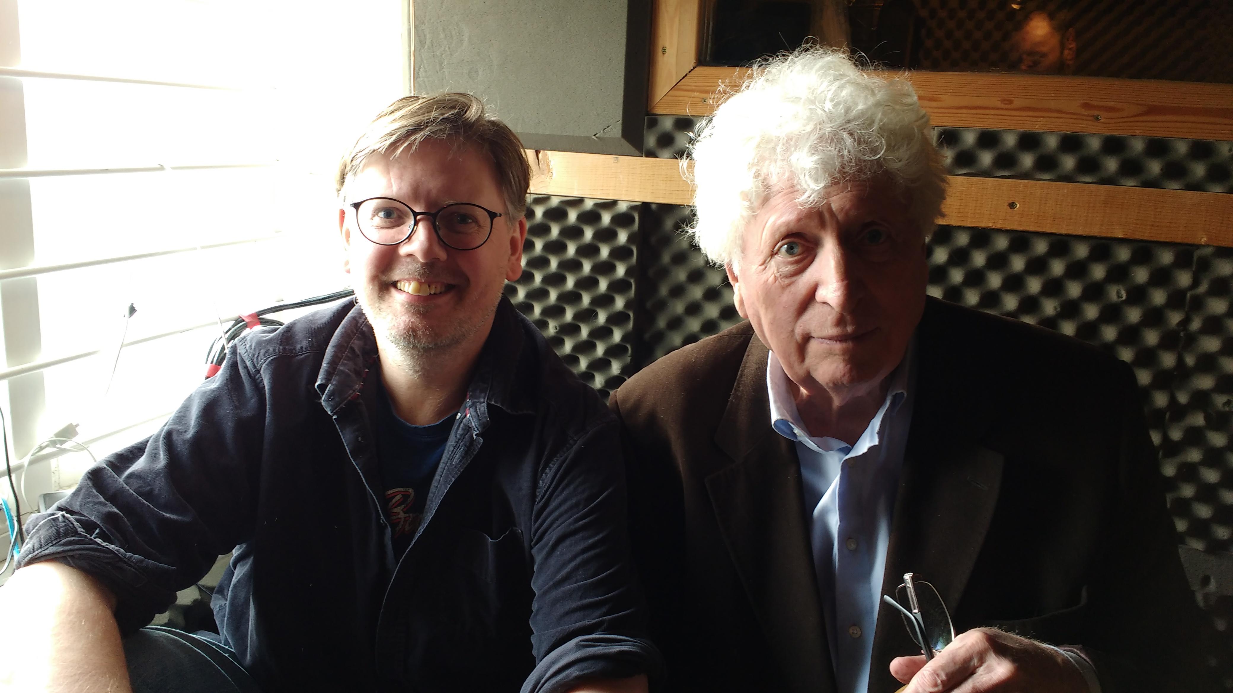 Paul Magrs and Tom Baker