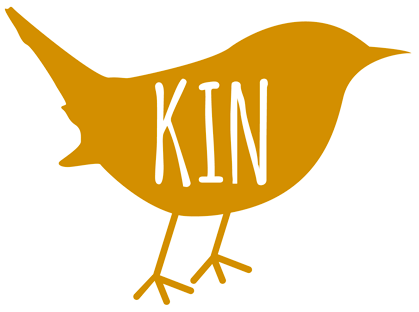 Logo design and branding for Kin Vodka