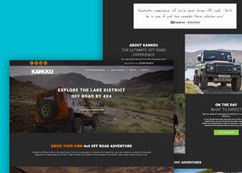 Web design for Kankku