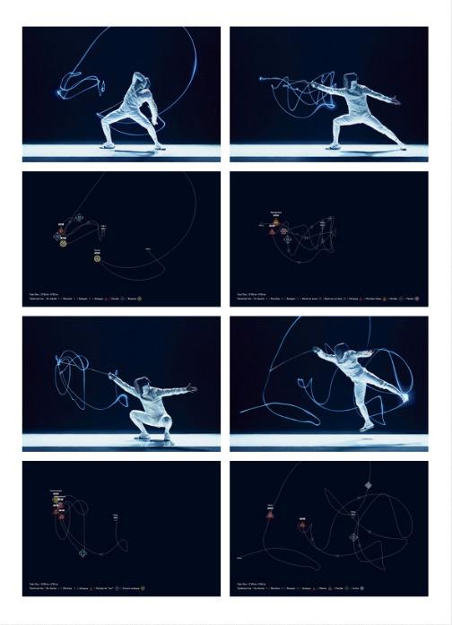 Precioso proyecto de Fencing Visualized