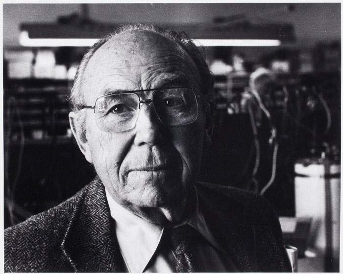 Retrato del fotógrafo, Harold Edgerton