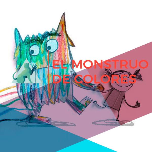 El Monstruo<br>de colores