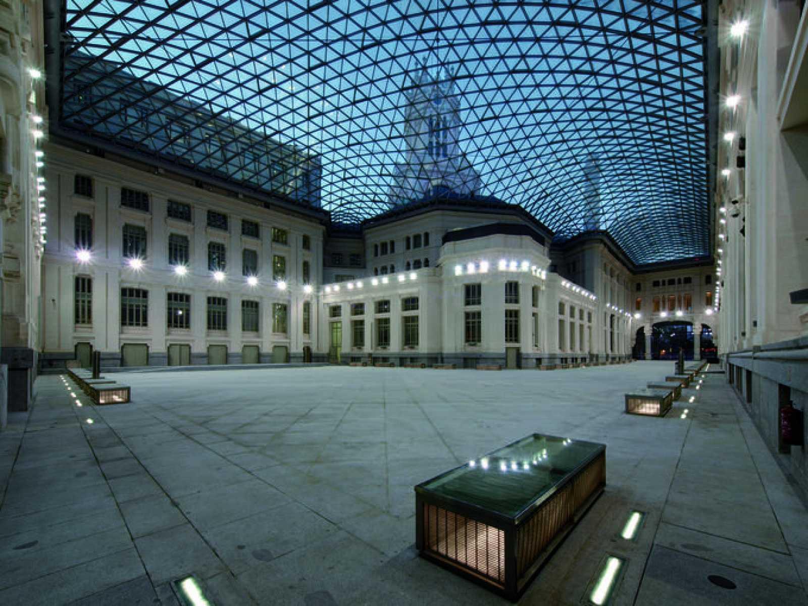 Galería de Cristal del ayuntamiento