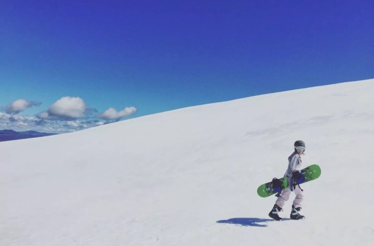 tiffany hulm explorer of the month snowboard snow skiing
