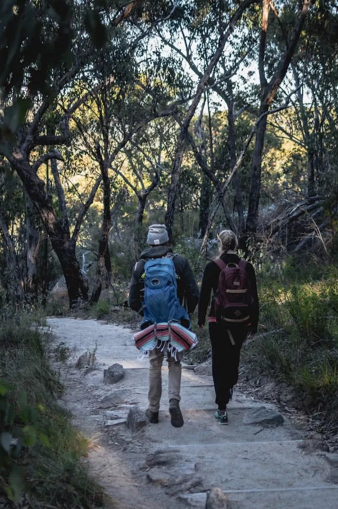 Wash Your Spirit Clean // The Cabin Series With Unyoked, Brent Frondall, Girraween National Park, unyoked cabin series, hiking, packs