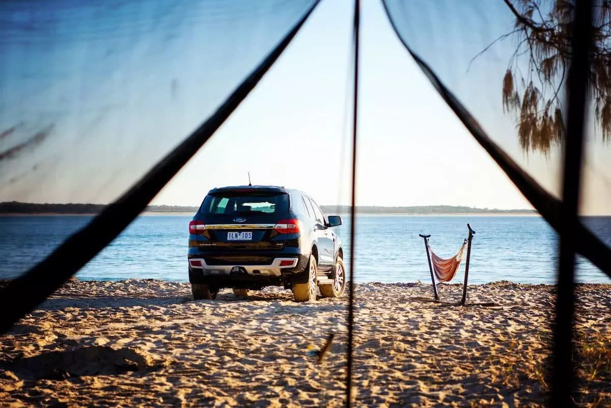 Drive & Seek // Grab A Free Adventure From Ford, Lauren Bath, Ford SUV, car, beach,