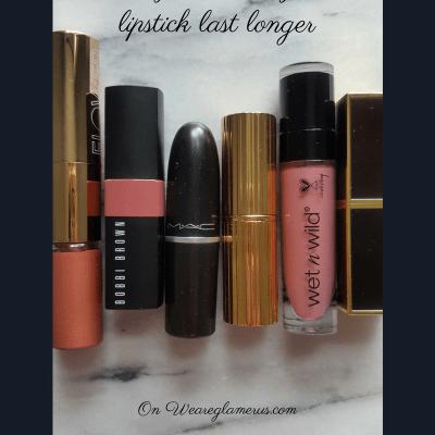 3 ways to make your lipstick last longer