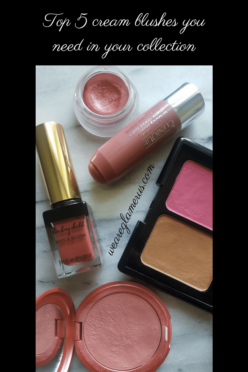 Top 5 cream blushes you need in your collection