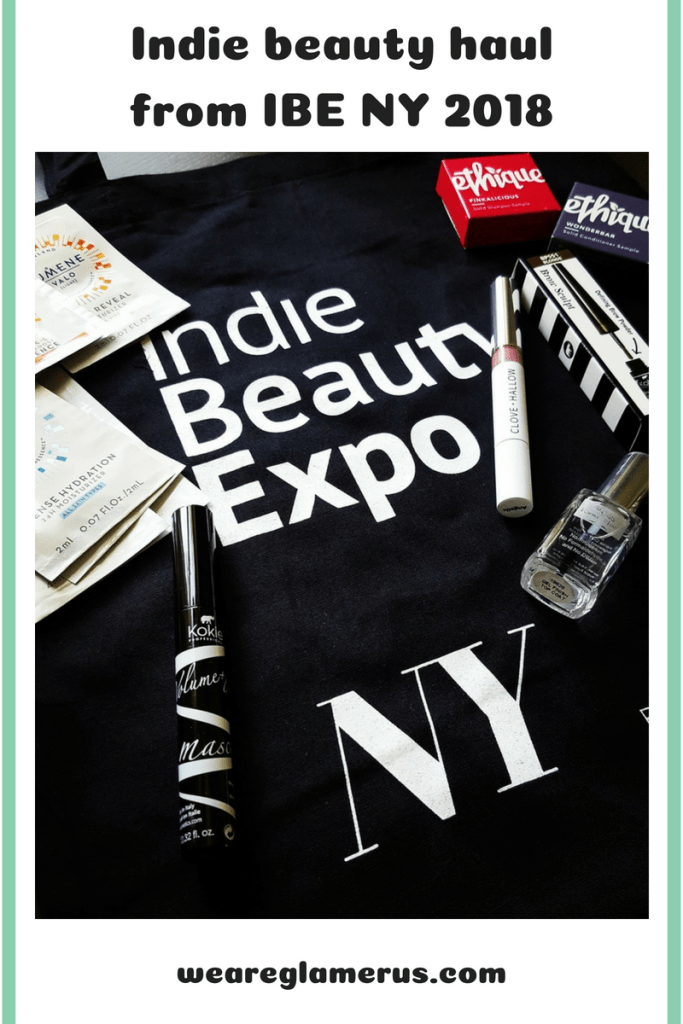 Check out my Indie Beauty Haul from IBE NY 2018
