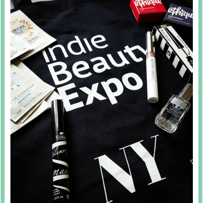 Indie beauty haul from IBE NY 2018