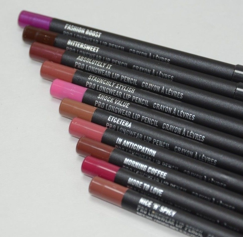 MAC Pro Longwear Lip Pencils