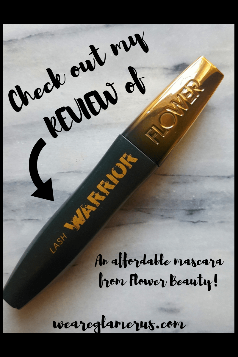 Check out my review of Lash Warrior, an affordable mascara from Flower Beauty!