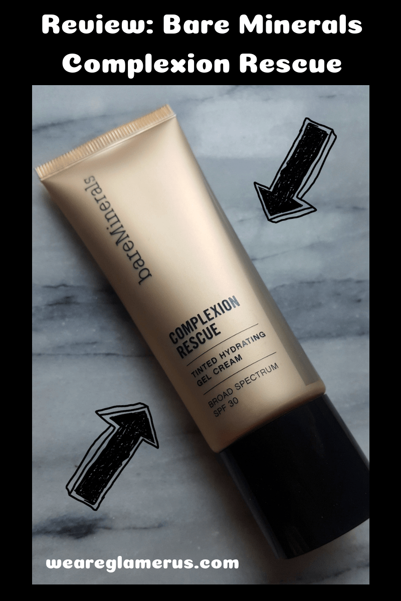 Check out my in-depth review of the highly-rated Bare Minerals Complexion Rescue!