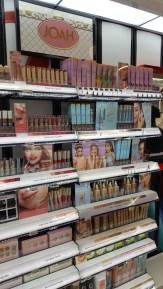 Joah Beauty display