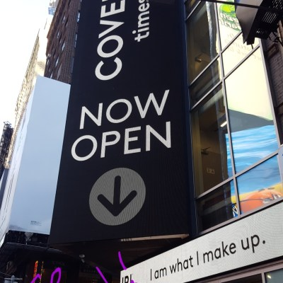 I went to the new CoverGirl flagship store in NYC!