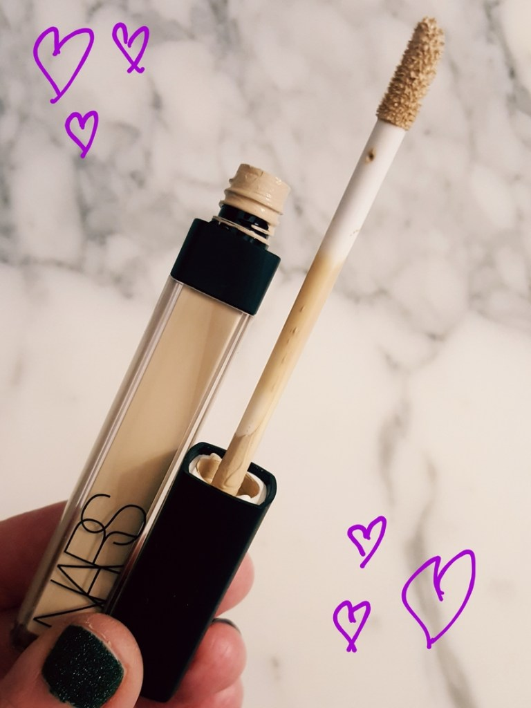 NARS Radiant Creamy Concealer in Chantilly (the lightest shade)