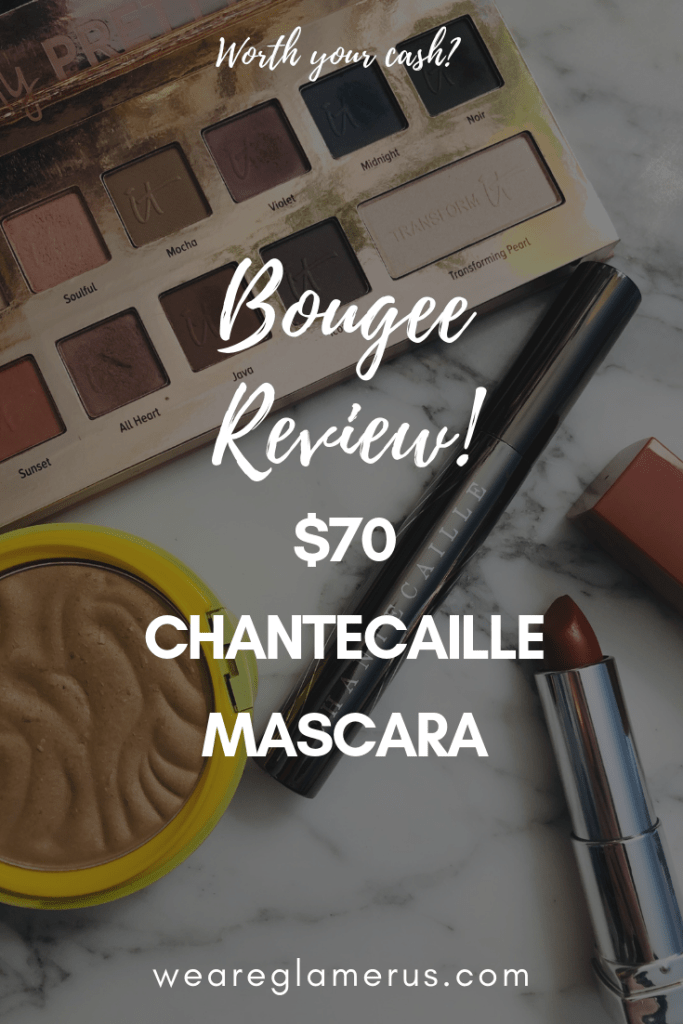 Yep, that's right! I used a ridiculously bougee $70 Chantecaille mascara that promises longer, fuller natural lashes. Did it actually work? Find out!