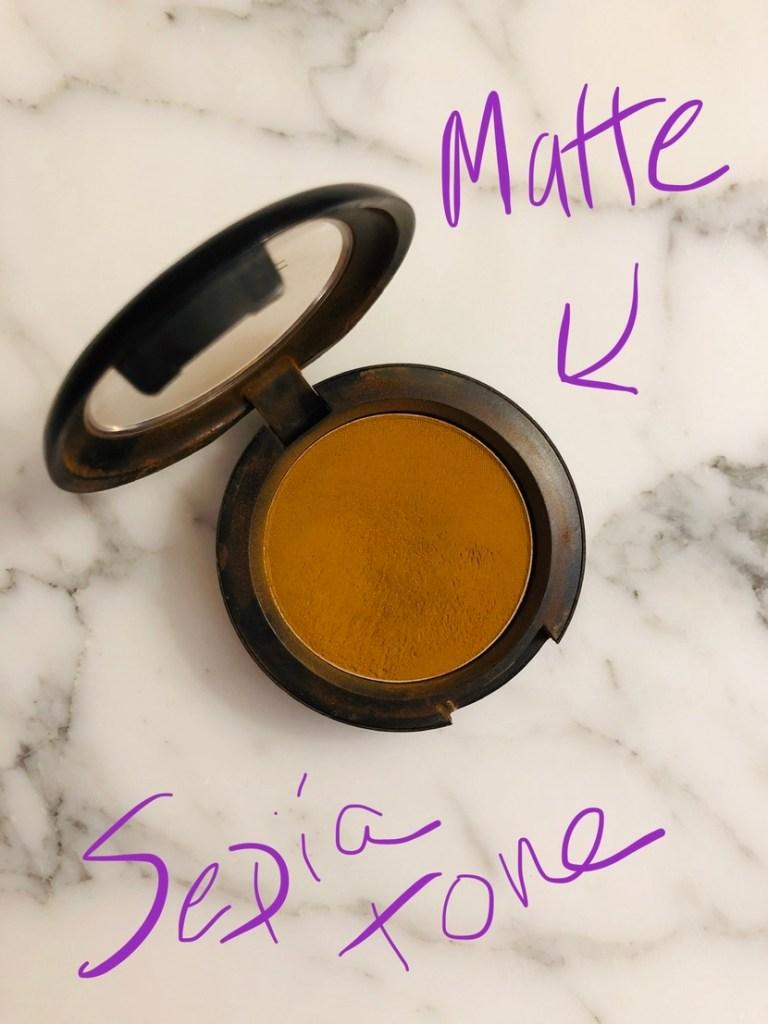 MAC Uninterrupted Eyeshadow (as Pro Longwear shadow - discontinued)
