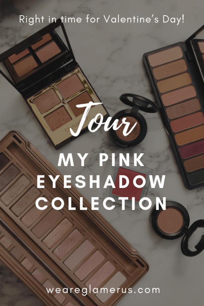 I've been loving pink eyeshadow recently! Right in time for Valentine's Day, I'm giving you a little tour of my current collection of pink shadows, featuring bits from Urban Decay, Charlotte Tilbury, Elf, & Other Stories, and MAC!