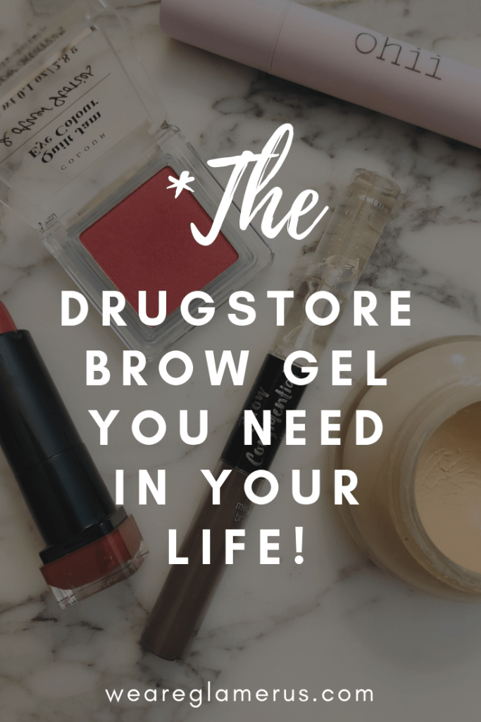 I recently discovered this drugstore brow gel from Ardell Beauty...and I think I finally found thee one! Read this post for more info!