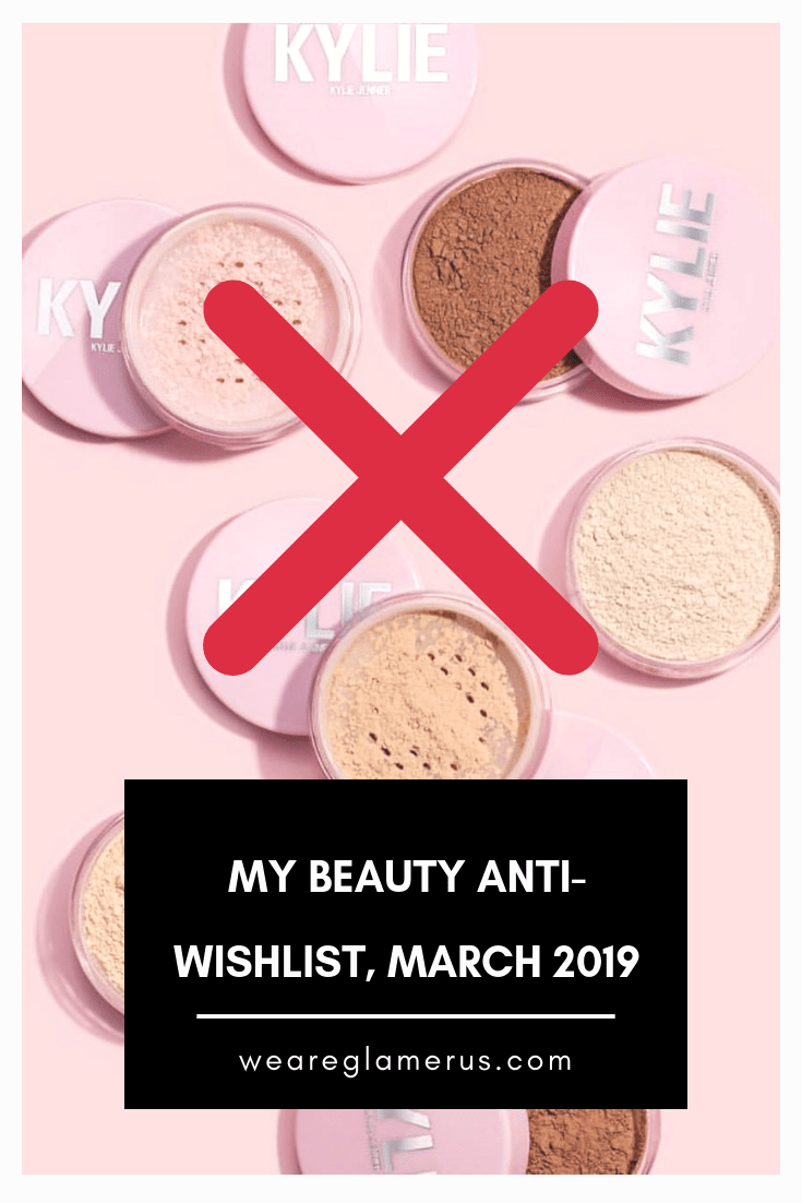 Check out my newest anti-wishlist including launches from ColourPop, Kylie Cosmetics, Beauty Bakerie, Glossier & Farsali!