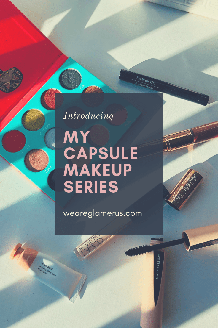 I'm bringing you a new series this month! My capsule makeup series, where I'll create five unique makeup looks using the same six products!