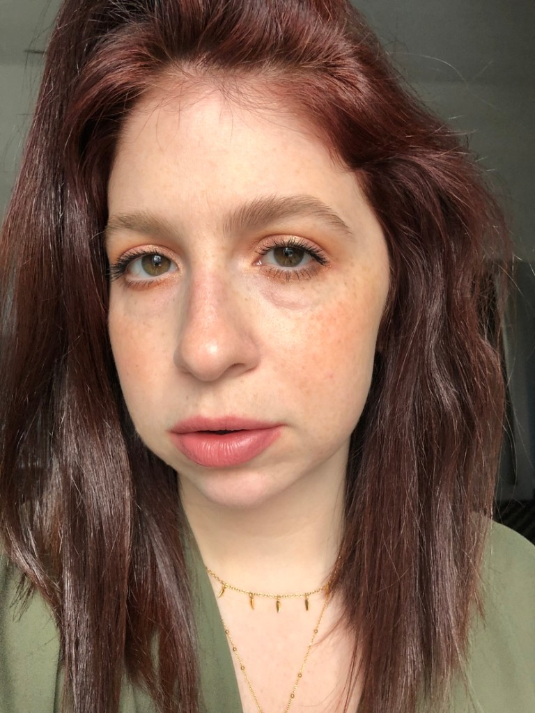 Easy everyday look achieved with just six makeup products