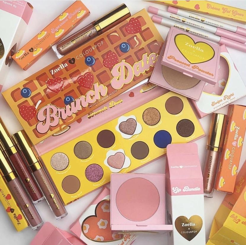 ColourPop x Zoella Brunch Collection