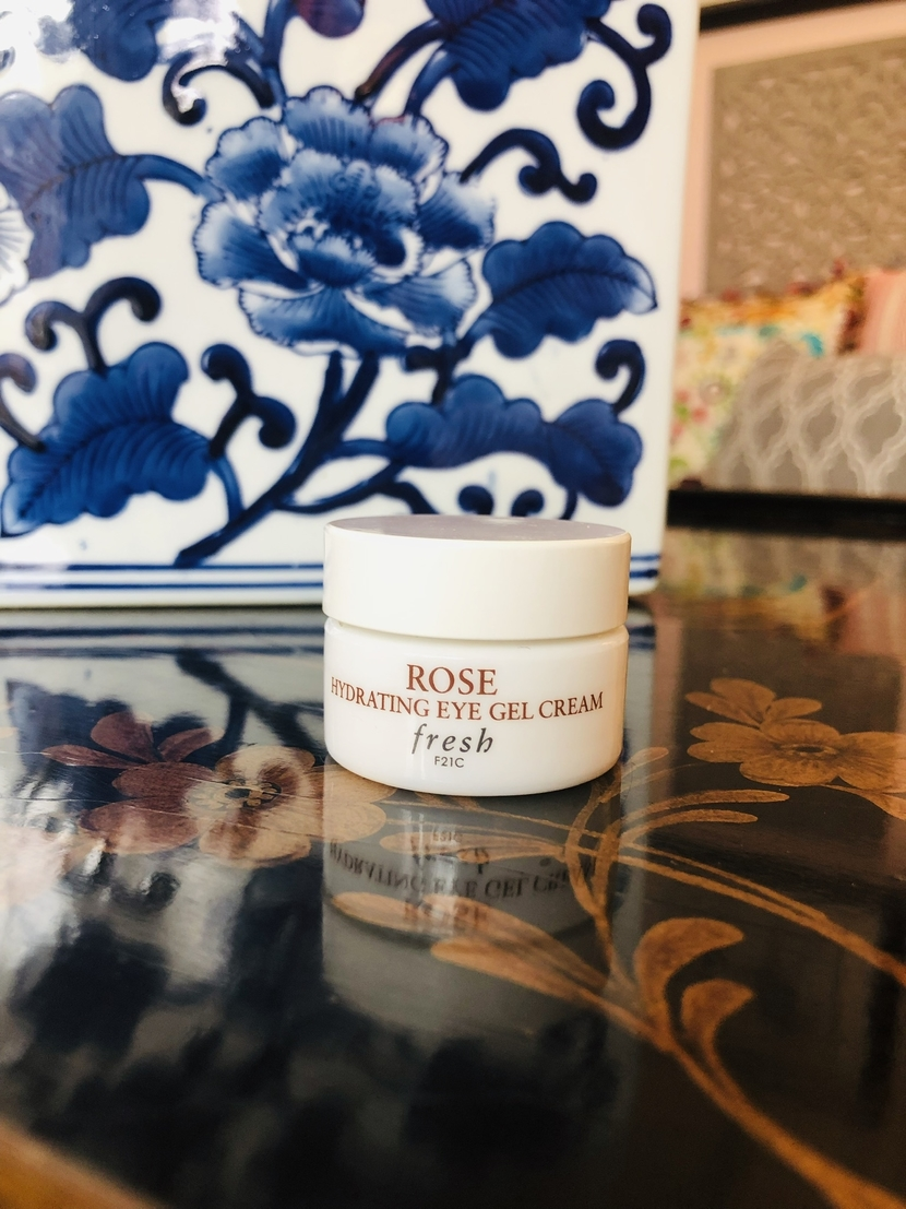 Fresh Beauty Rose Hydrating Gel Eye Cream