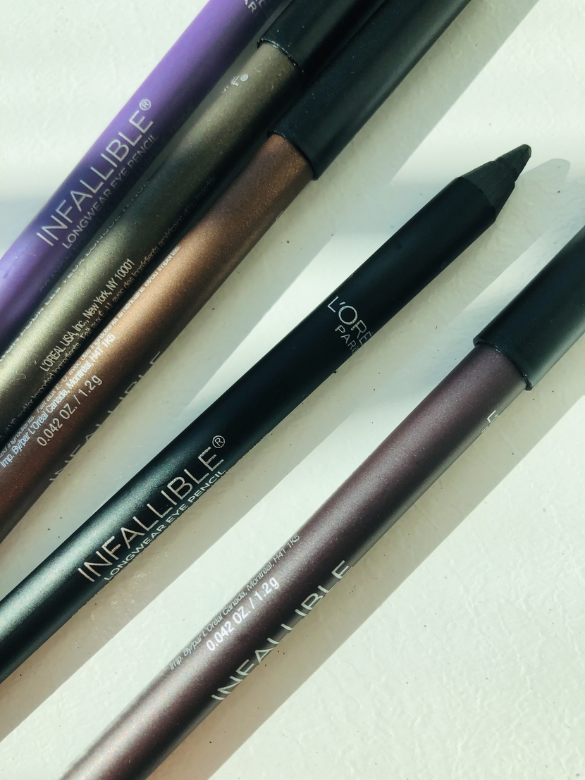 Up close of pencil tip on the L'Oreal Infallible Pro-Last Waterproof Eyeliner Pencil