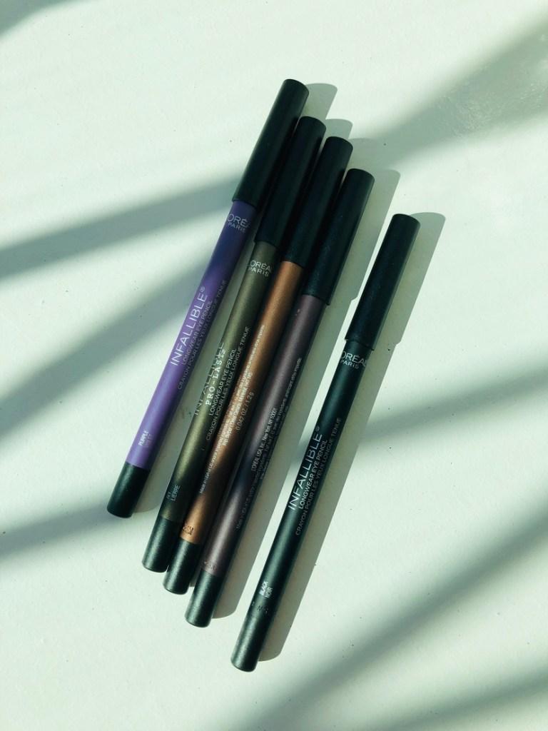L'Oreal Infallible Pro-Last Waterproof Pencil Eyeliners