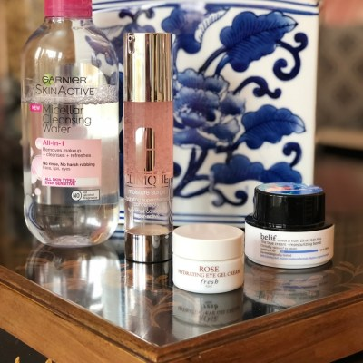 My speedy skincare routine for dry skin