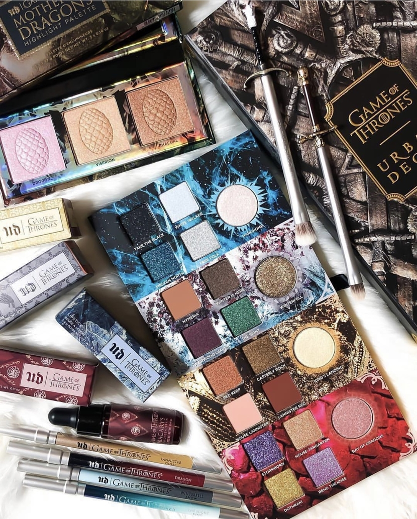 Urban Decay Game of Thrones Collection