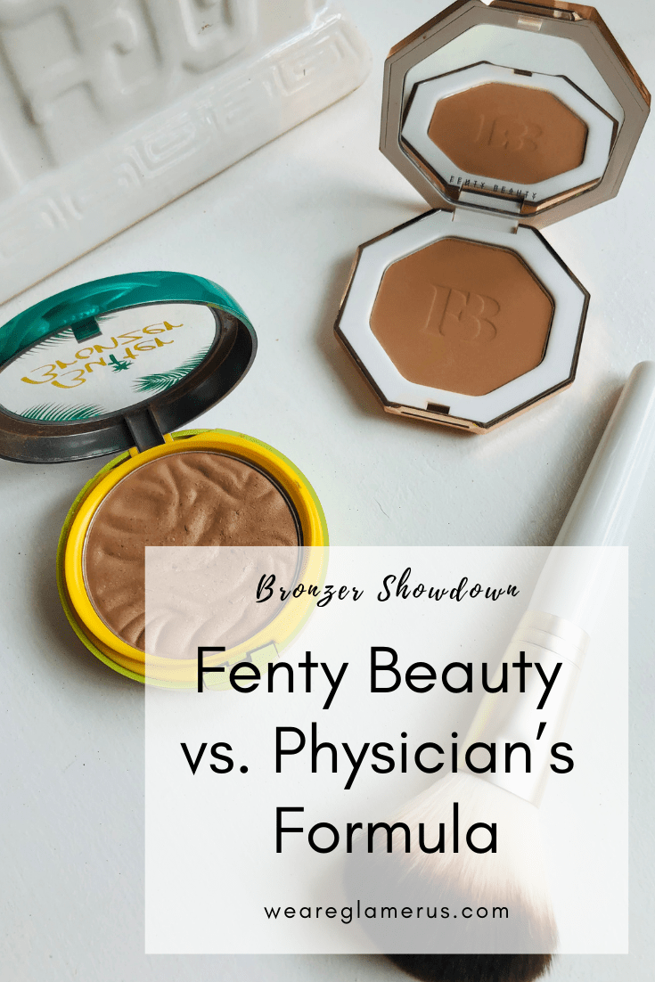 We're pitting drugstore against luxury bronzers in today's post? Which performs better? Fenty Beauty Sun Stalk'r Bronzer or Physician's Formula Butter Bronzer?