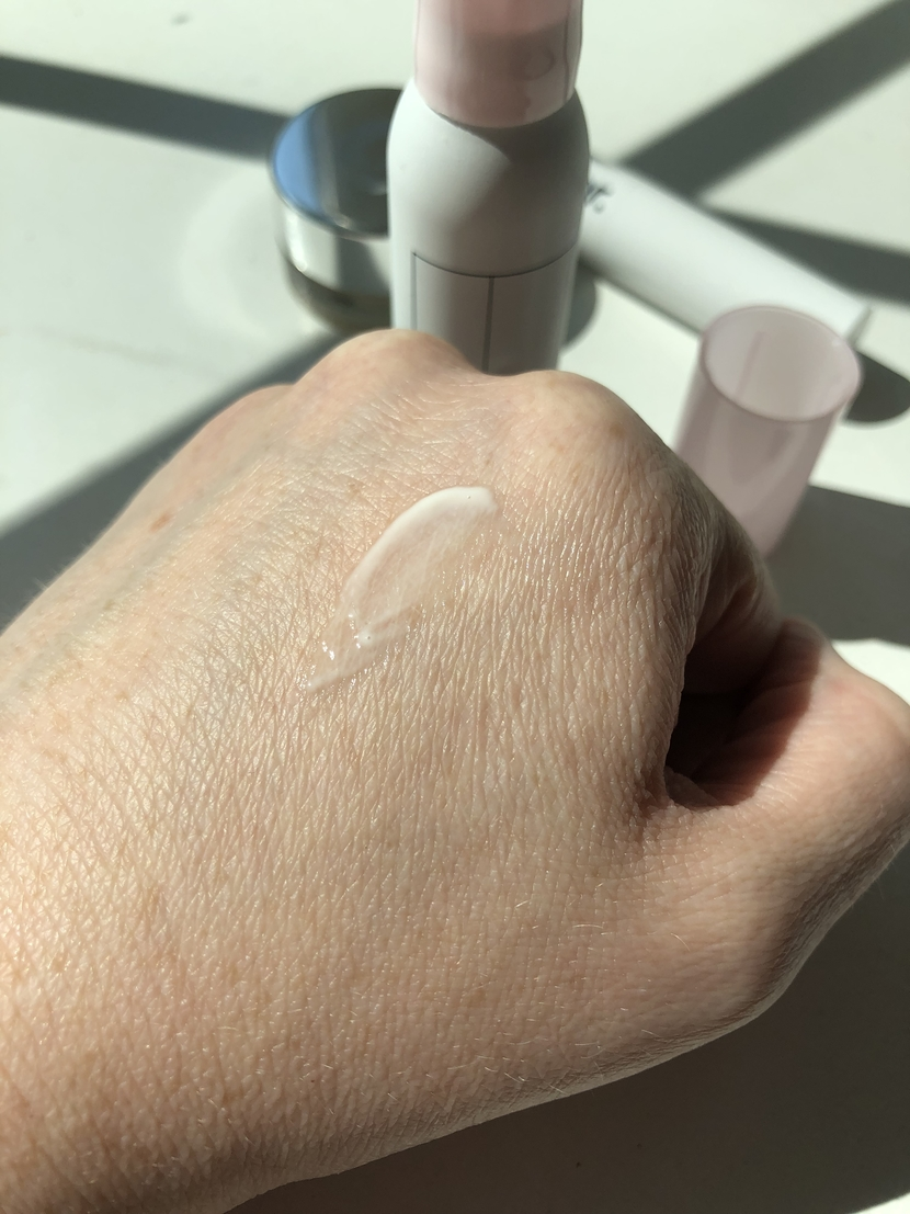 Glossier Bubblewrap blended into the skin