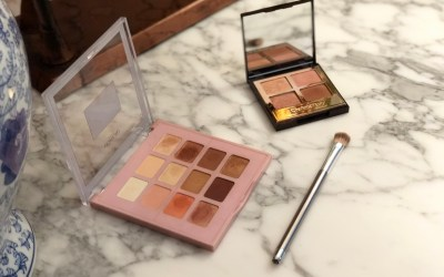 A drugstore dupe for the Charlotte Tilbury Pillow Talk Palette?