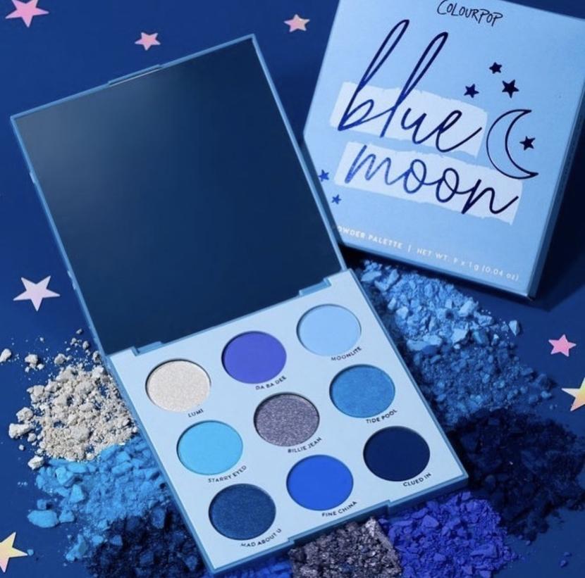 Colourpop Blue Moon Shadow Palette - beauty anti-wishlist June 2019