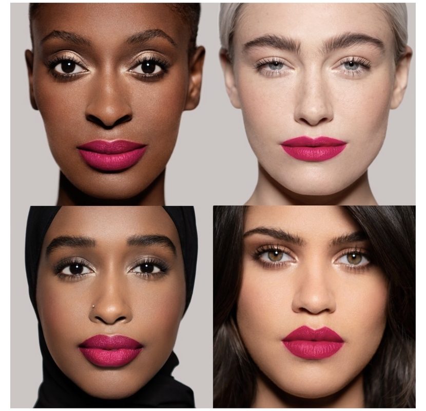 Lisa Eldridge's new Summer Collection! Swatches of Skyscraper Rose Insanely Saturated Lip Colour by Lisa Eldridge Makeup