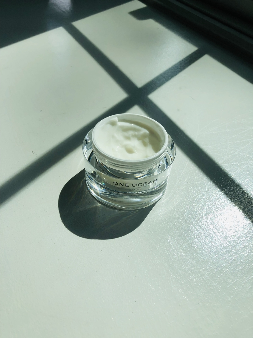 Lightweight moisturizing cream