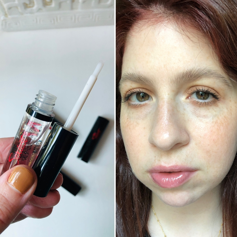 DSL Gloss from The Sexiest Beauty's lip wardrobe