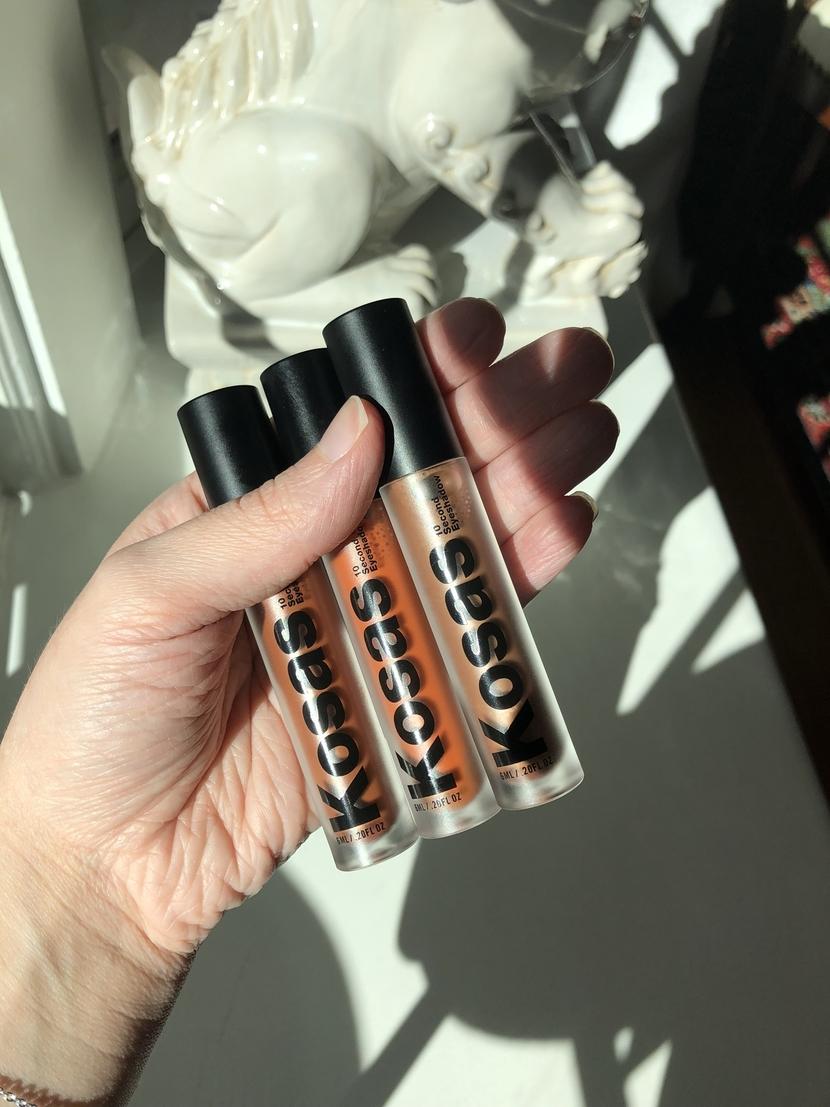 Kosas Cosmetics 10 Second Eyeshadows in Element, Globe & Copper Halo