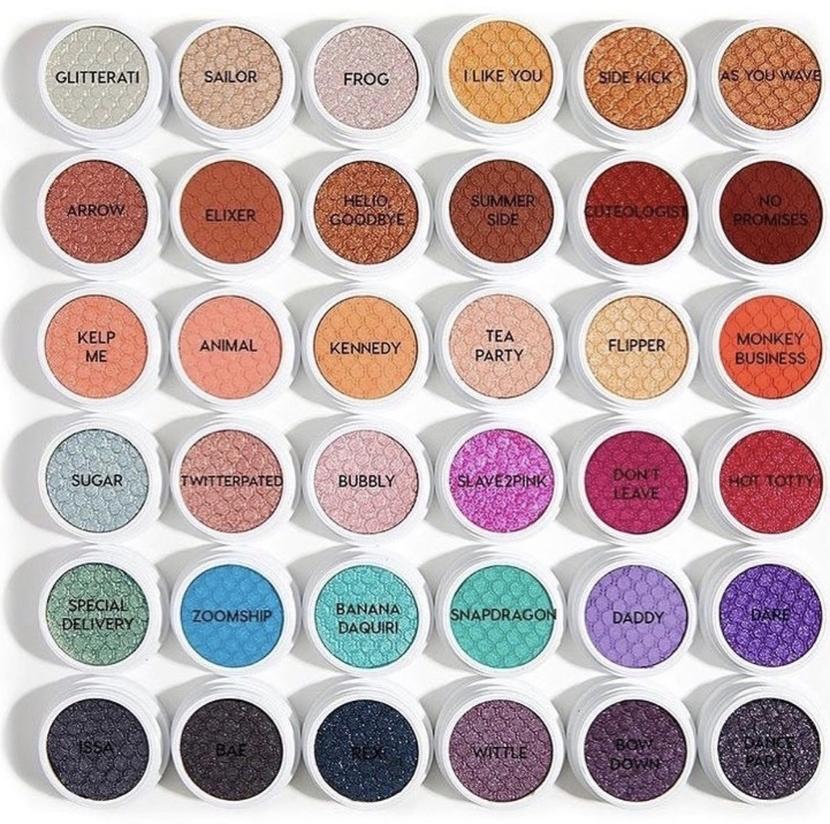 ColourPop Super Shock Shadows - best drugstore mascaras & eyeshadows 2019