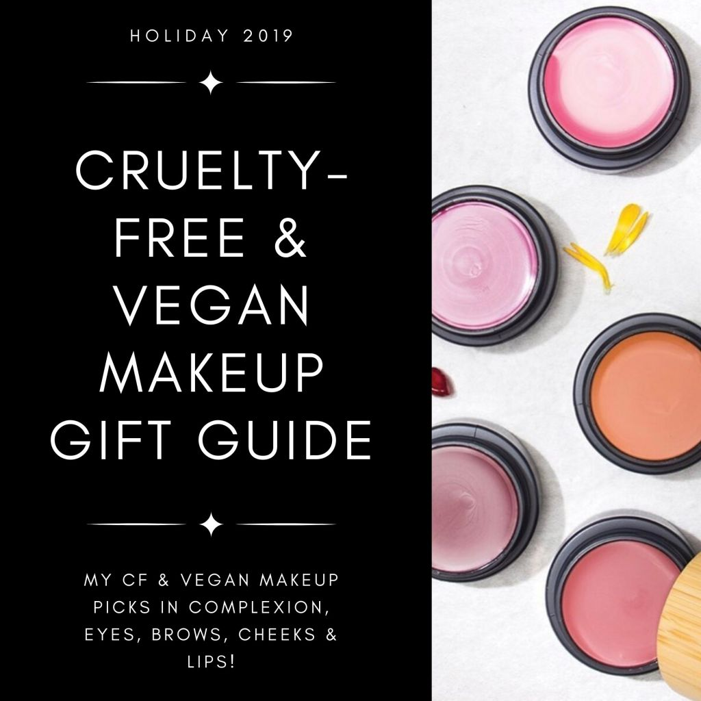 Check out my latest gift guide featuring my picks for the best CF & vegan makeup!