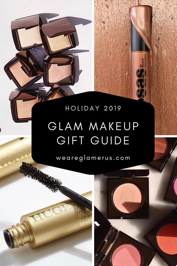Check out my Glam Makeup Gift Guide with recommendations on everything from foundation, to mascara, to lipstick, and more!